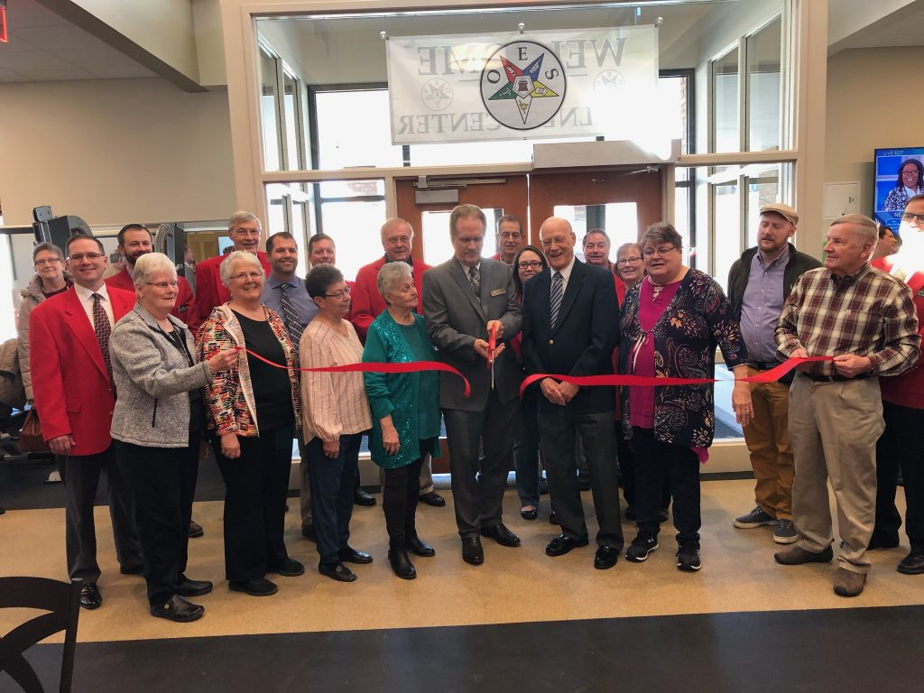 Chamber Ambassadors and staff at Easter Star Masonic Home (715 West 3rd Street) celebrated the opening of the new addition on March 10.