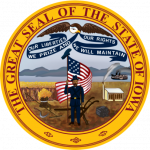 Image of the seal of the State of Iowa