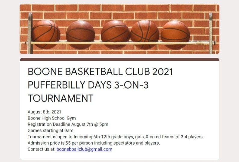 2021 Basketball Tournament