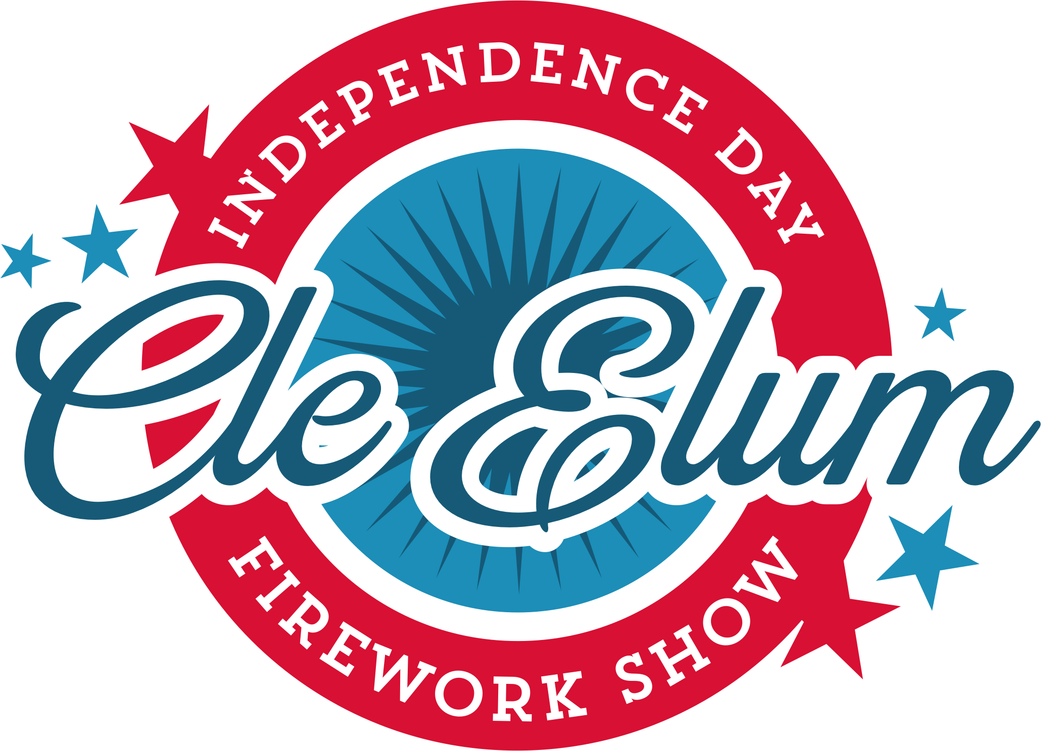 DCE Independence Day Logo