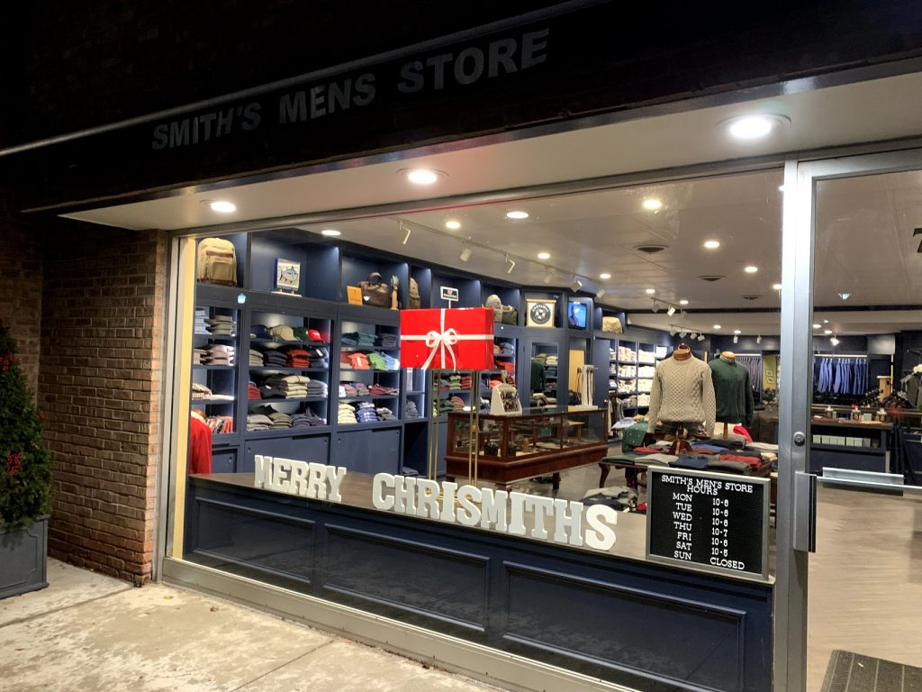 @Smith's Mens Store