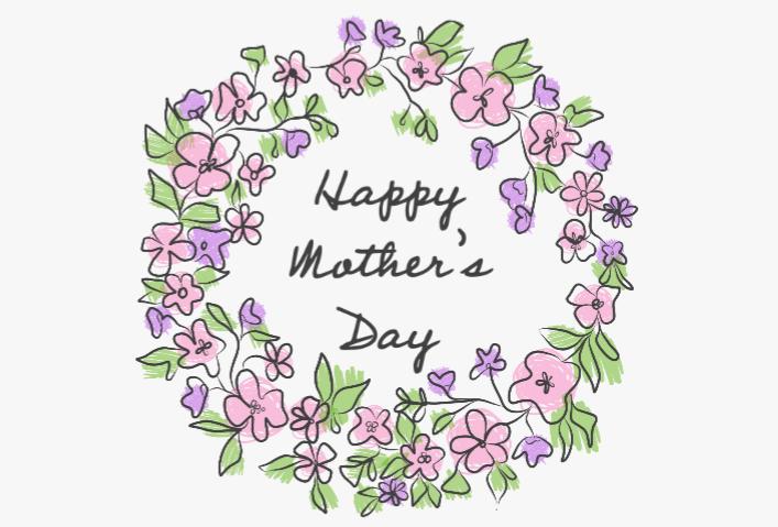 mothers day logo no logos