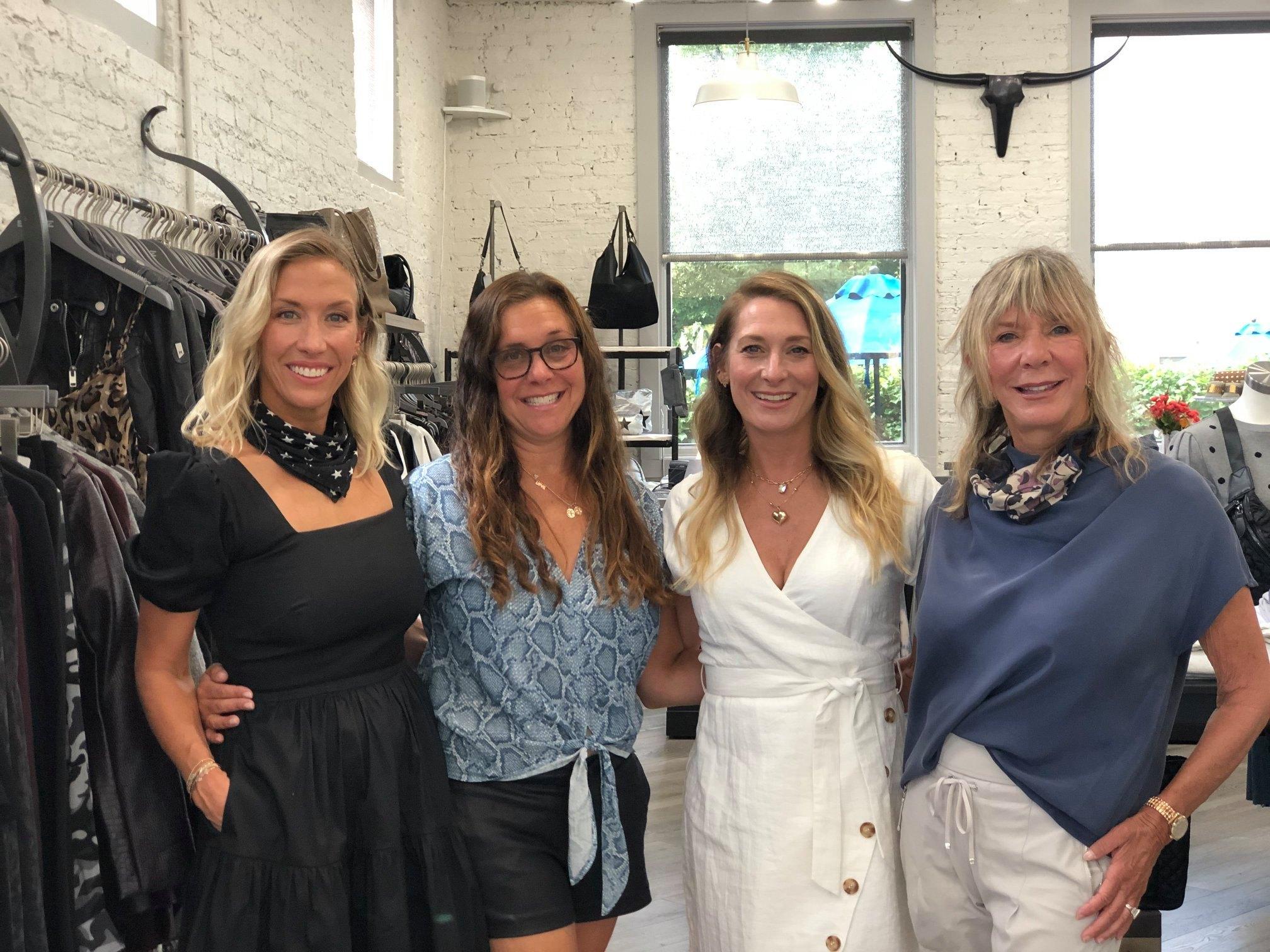 L to R: Samantha Shapiro, Melinda Kaplan, Lena Blitstein, Susan Lurie