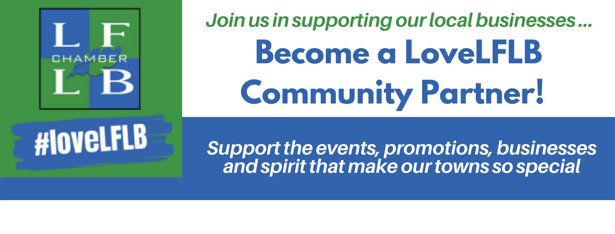 LoveLFLB Community Partner page header