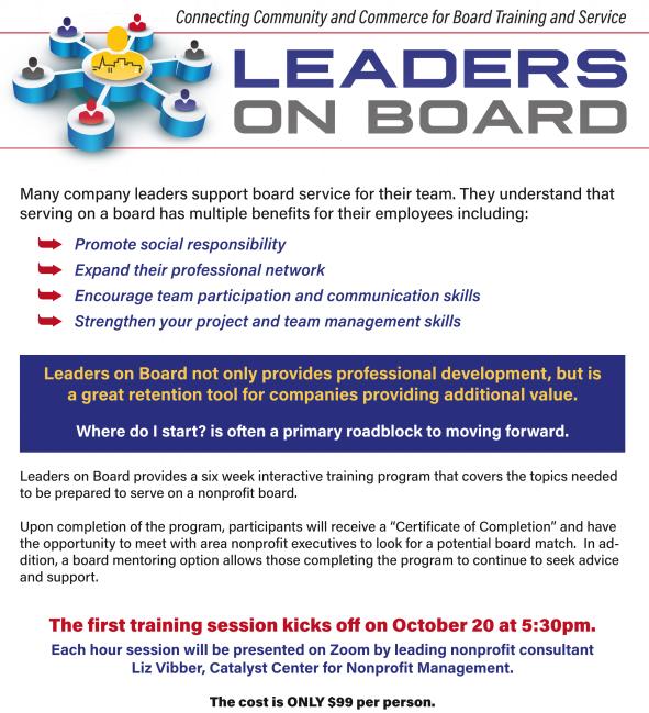 Leaders On Board Flyer