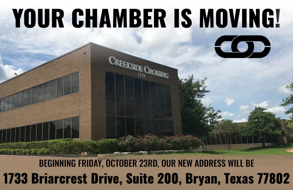 CHAMBER IS MOVING