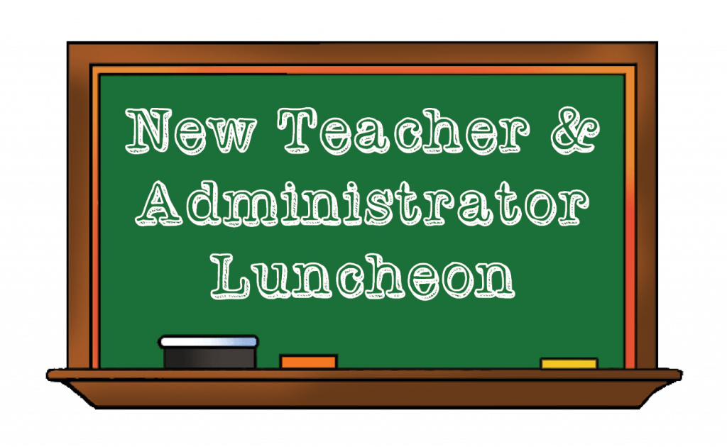 New Teachers Luncheon