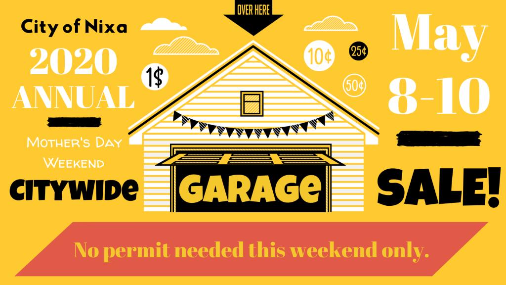 2020 Citywide Garage Sale