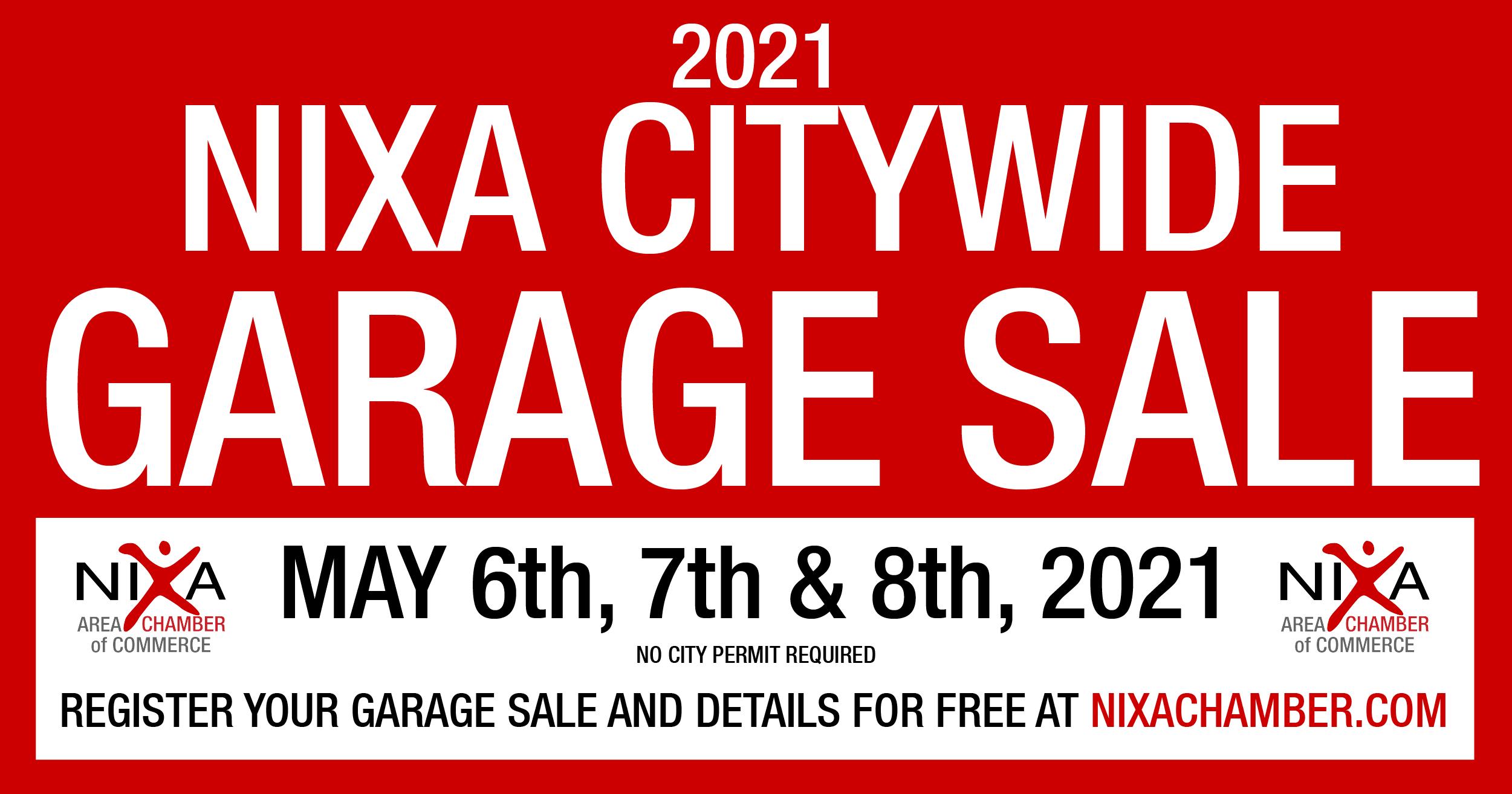 citywide garage sale event 2021