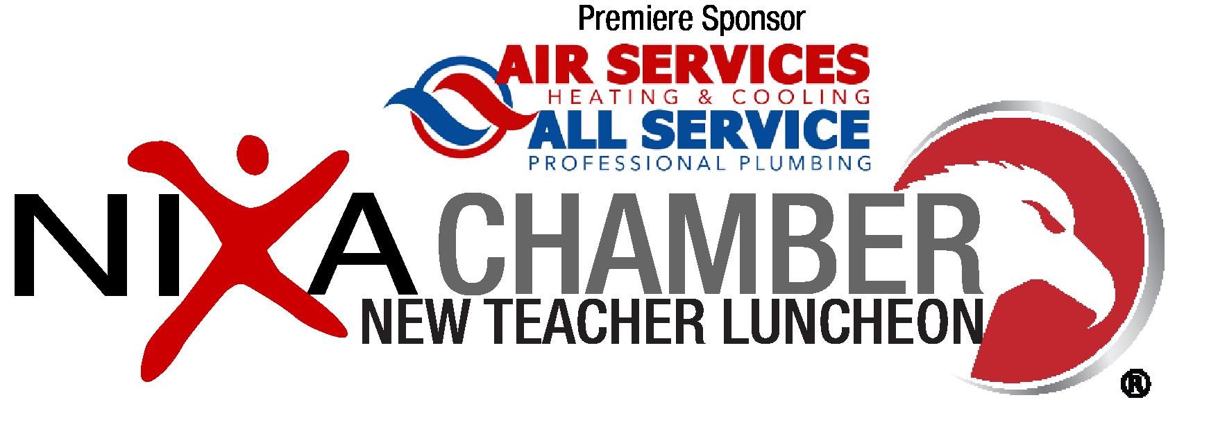 nixa chamber teacher luncheon logo air services