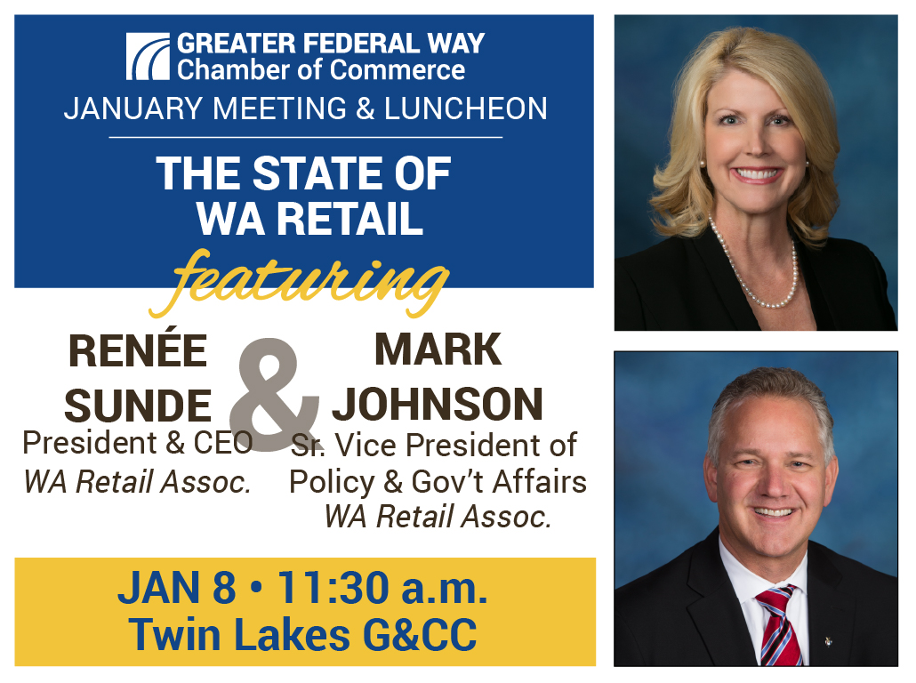 Jan 2020 Luncheon with WA Retail Association