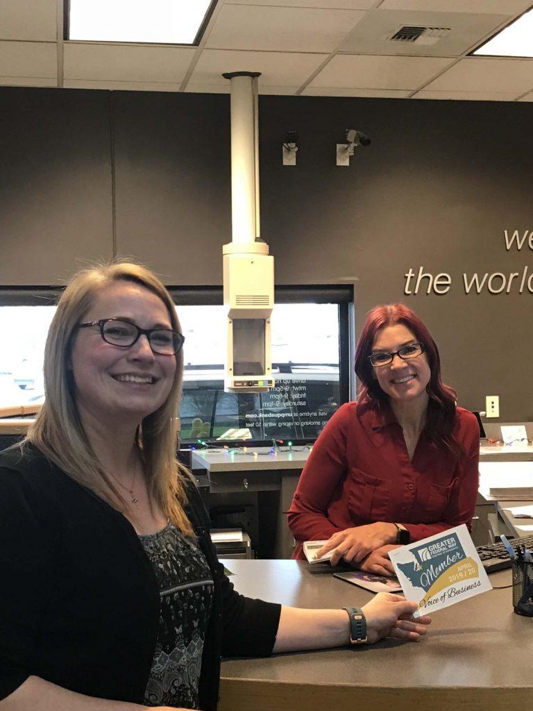 Umpqua Bank Cling Visit - Dec 2019 - web