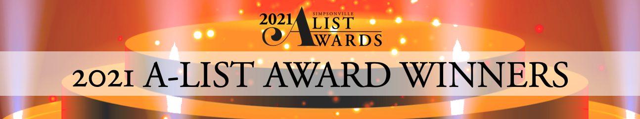 2021 A-List Award Winners