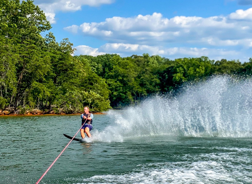 Water sports at Smith Mountain Lake