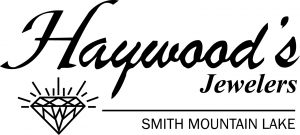 Haywood's Jewelers logo-Smith Mountain Lake w Line
