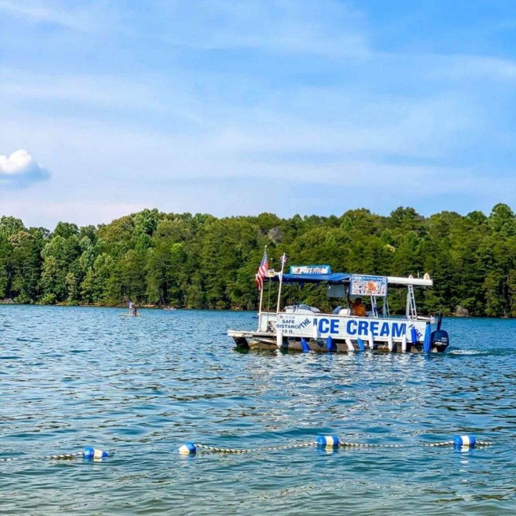 ice cream boat sml