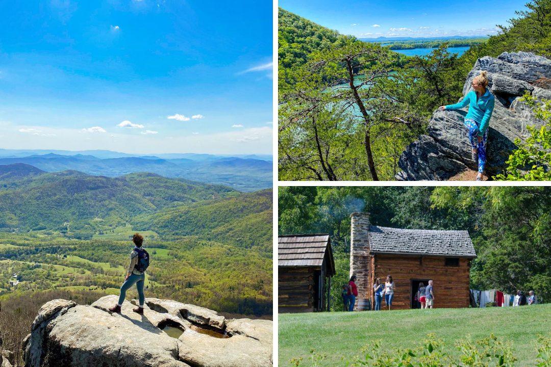 Hiking at Smith Mountain Lake