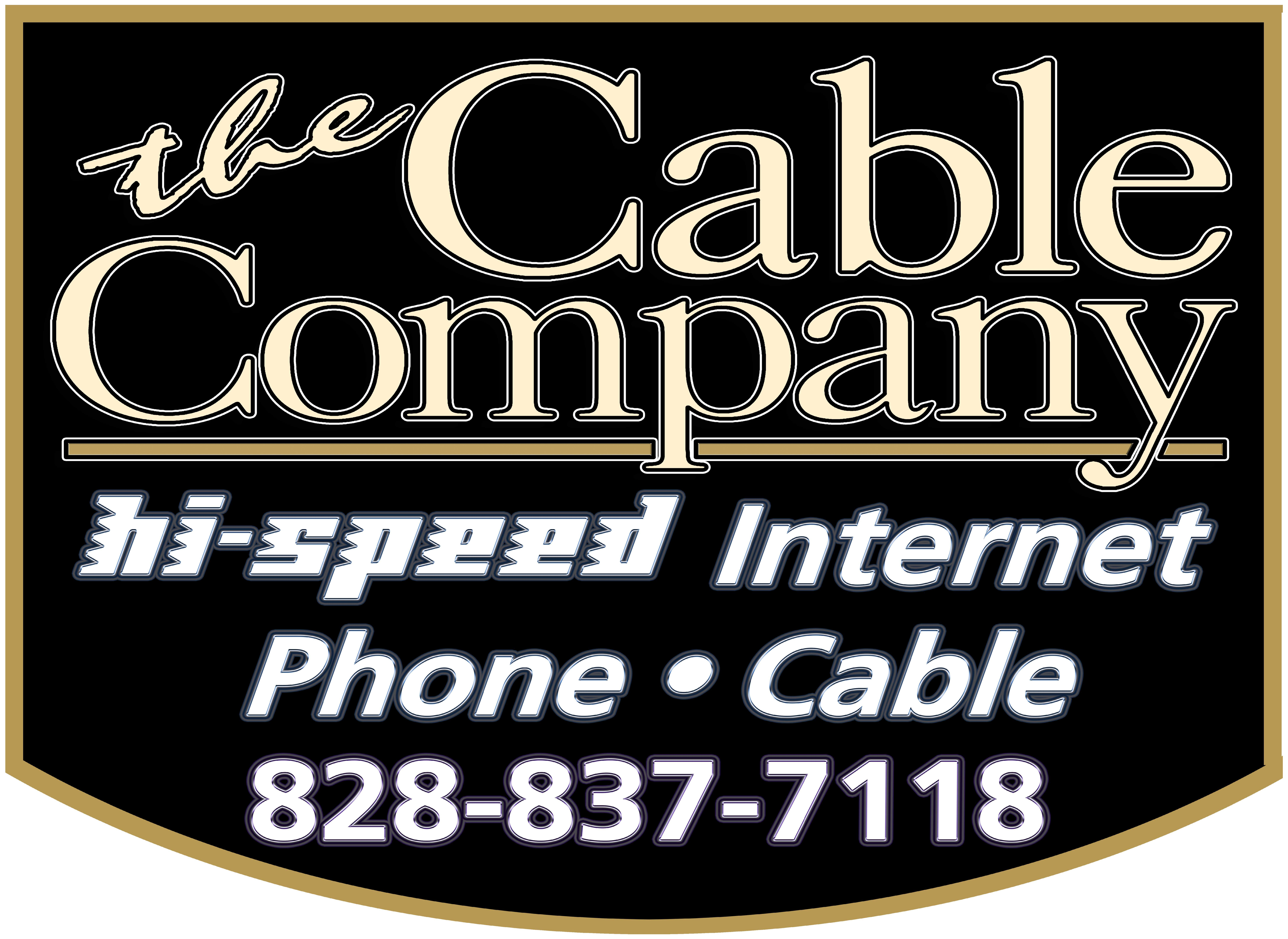 Cable Company Logo in Footer