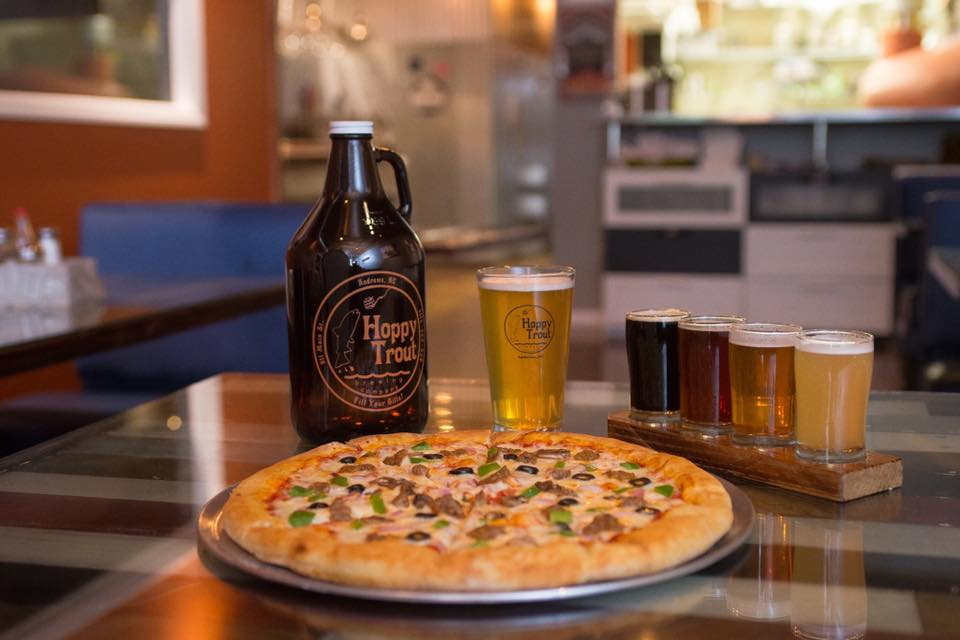 Hoppy Trout | Beer and Pizza in Andrews, NC