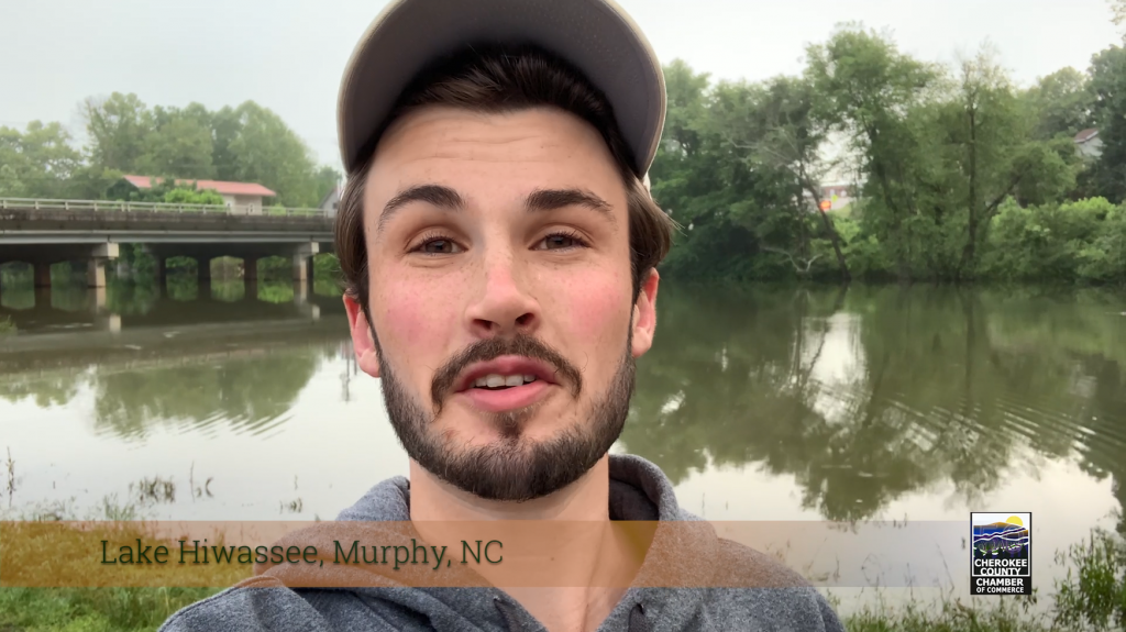 On the Road with Riley - Lake Hiwassee, Murphy, NC