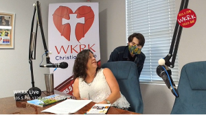 Tyler Anderson and Sherry Raines on WKRK Live