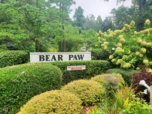 Bear Paw community in Cherokee County Murphy NC