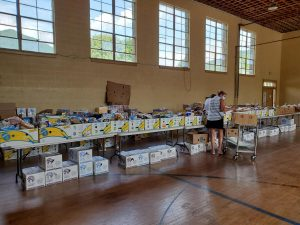 Food Distribution at Stecoah Valley Art Center