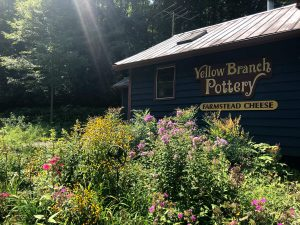 Yellow Branch Cheese and Pottery in Graham County, NC