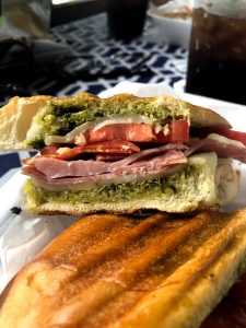 Delicious Italian panini served at Willow Tree Restaurant and Catering in Robbinsville, NC.