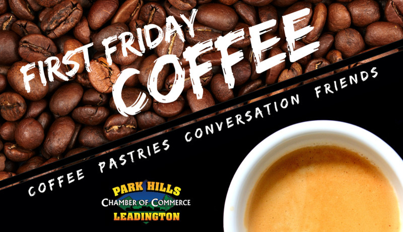 First Friday Coffee Website Graphic