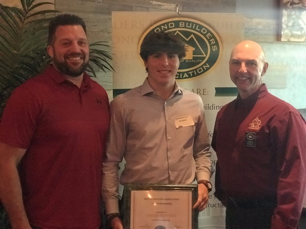 Congratulations to Owen Bowers our 2021 Scholarship Recipient