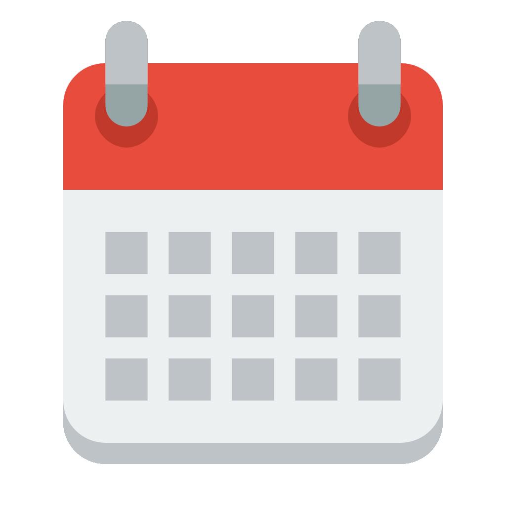 Calendar-PNG red