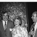 John Sherrod (left), Carol Johnson, Frank Ryan (right)