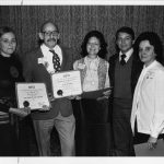 Bonnie Talmi (Carroll), Gerald Sophar, Patricia Dubrowsky, Doug Bernage, Betty Miller (1978 SIG-of-the Year Award--SIG Public-Private Interface)