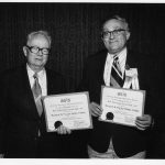 Bernard (Bernie) M. Fry, Herbert White (winners of Best Information Science Book award)