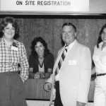ASIS staff Terry Martin, Karen Carbone, Billy Oliver, Rosanne Trykowski