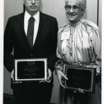 George Abbott, Barbara Flood, Watson Davis Award winners