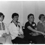 Jean Trapani, Jean Hutton, Betty Van Ryzin, Margaret McTheisen