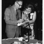 Laurence Heilprin, Irene-Farkas Conn (outgoing ASIST Councilor)