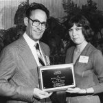 Gerard O. Platau, Sharon Pyrce Kaminecki Platau is receiving the 1980 Watson Davis Award