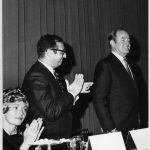 Senator Hubert Humphrey being honored at banquet