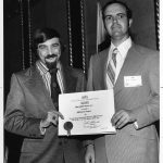 William S. Cooper receives Best JASIS Paper Award from Arthur Elias (JASIS editor)