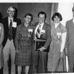 Margaret McBurney, Ted Brandhorst, Audrey Grosch, Melvin Day, Margaret Fischer, Gerard Platau (incoming ASIS Councilors)