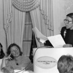 Debora (ralf) Shaw, Barbara Kwasnik, [unidentified woman at podium]