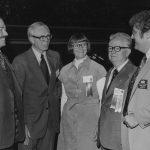 Clay Shepherd, Walter Carlson, Peg Fischer, Bernard Fry, Sam Beatty