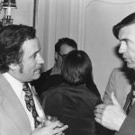 Roger Summit (on right) Talking to unidentified man