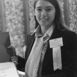 Brigitte Huybrechts Receiving for 1979 Best Student Paper