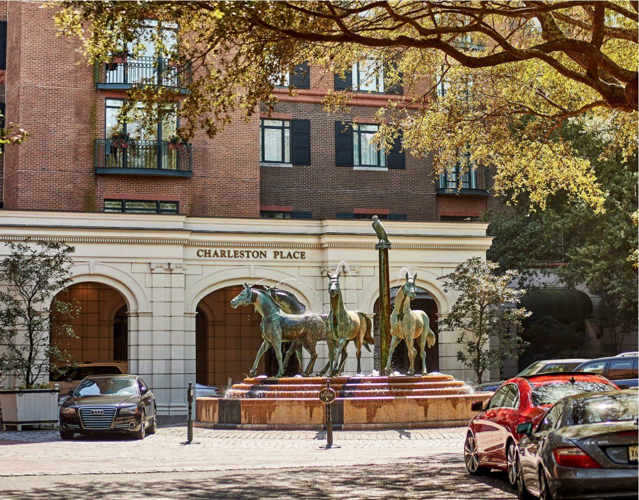 Belmond Charleston Place Entrance