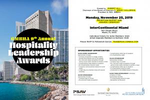 GMBHA 9th Annual Hospitality Leadership Awards 11.25.2019