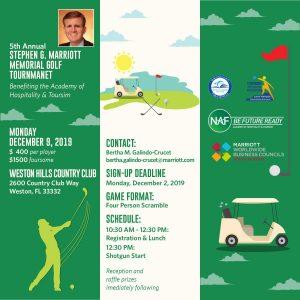 Stephen G Marriott Memorial Golf Tournament